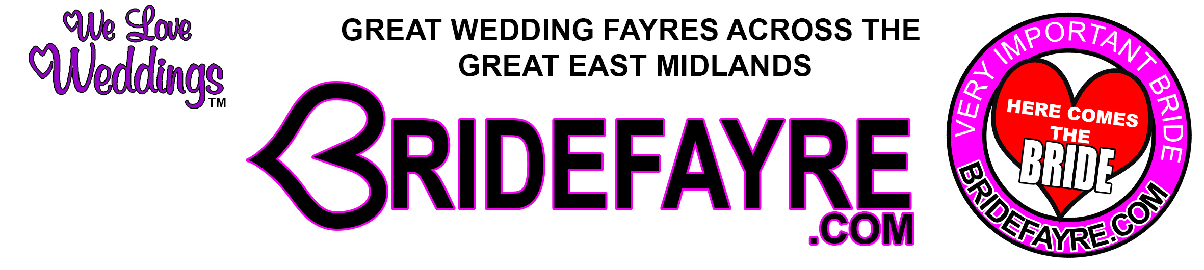 Wedding Fayre Derby Nottingham Leicester Burton